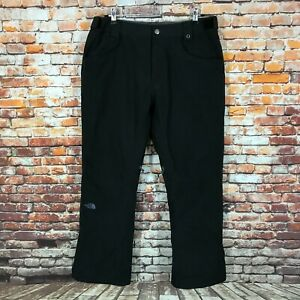 The North Face Hyvent Ski Snowboard Black Winter Pants Mens Trousers Size L