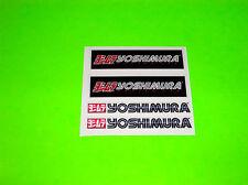 KX KXF CR CRF YZ YZF RM RMZ 125 250 450 YOSHIMURA EXHAUST 3 INCH DECALS STICKERS