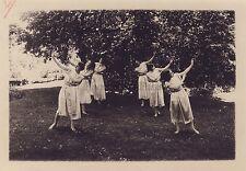 Danse antique Les amis de Versailles élèves Mme Jousse Vintage argentique 1926
