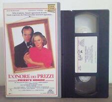 VHS FILM Ita Drammatico L'ONORE DEI PRIZZI jack nicholson mafia no dvd(VHS5)