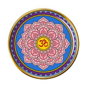 Fiore di Loto Mandala Buddismo Spilla