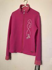 Mondor Polartec Fleece Jacket Size Age 12-14 In Pink