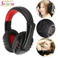 Wireless Bluetooth Gaming Headset Headphones Stereo w/Mic for PC UK