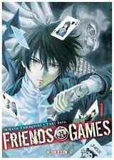 Manga Friends Games Tome 1 Seinen SATÔ Yûki YAMAGUCHI Mikoto Soleil Thriller VF