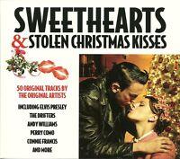 SWEETHEARTS & STOLEN CHRISTMAS KISSES - 2 CD BOX SET - BRENDA LEE & MORE
