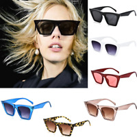 Fashion Retro Women Cat Eye Sunglasses Fashion Shades Oversized Glasses 2018 New