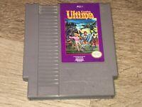 Ultima Exodus Nintendo Nes Cleaned & Tested Authentic