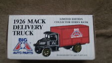 Big A Auto Parts 1926 Mack Delivery Truck Bank-Limited Edition Diecst Series