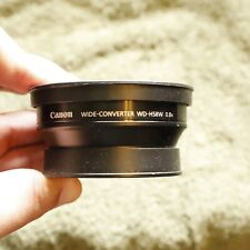 Canon Wide-Converter WD-H58W 0.8x Wide Angle Lens Used Excellent
