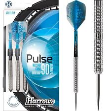 Harrows Pulse Darts Set 21g 22g 23g 24g 25g 26g grams Tungsten Natural Ringed