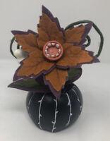 NEW Creepy Decorative Halloween Faux Succulent (Black) - Hyde & EEK! Boutique
