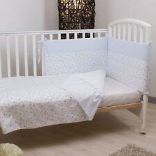 Piumone letto neonato 4pz paracolpi sfoderabile copri piumino piumino lenzuola