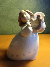 "Lladro "" Little Angel with Lyre"" Number 06528"