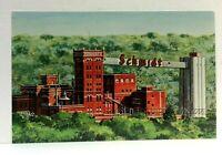 St Paul Minnesota Aerial View Jacob Schmidt Brewing Company Postcard