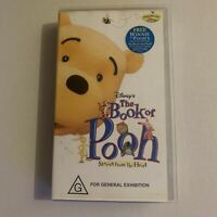 Disney's The Book of Pooh - Story From The Heart (VHS, 2001) PAL