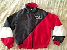 TRiCK Racing GASOLiNE Custom Embroidered Quilted Jacket Size M NHRA High Octane