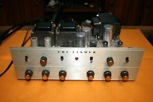Recapped  FISHER KX-200 Stereo Tube Amplifier