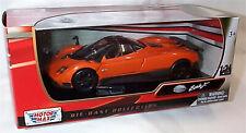 Pagani Zonda F Orange and black 1-24 Scale Model New in box