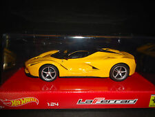 Hot Wheels Ferrari LaFerrari 2013 jaune 1/24