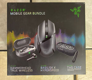 Razer Bluetooth Headset /Mouse Gaming Mobile Gear Bundle