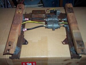 ORIGINAL GM POWER ELECTRIC SEAT TRACK SIX WAY MOTOR TRANSMISSION CABLES COMPLETE