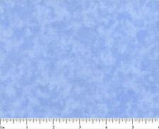 One Yard Cotton Quilt Fabric BLENDER 0202 Light Blue MOTTLED Tonal Cotton BTY