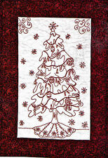 Christmas Redwork & Country Quilts 20 Projects Full-Size Templates Pattern BooK