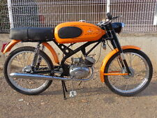 ITALJET 50 ORANGE SPORT RESTORED.