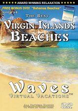 VIRGIN ISLANDS BEACHES + BAHAMAS BEACHES Side 2 / Waves Virtual Vacations DVD