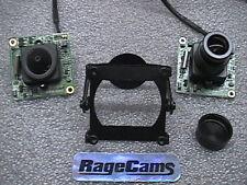 """Police Cam SONY 1/3""""CCD EXVIEW BW Spy Camera Low Light"""