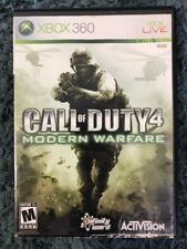 Xbox 360 Call Of Duty 4 Modern Warfare Rated M Used
