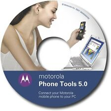 Oem Original Motorola Software Phone Tools 5 w/ Data Cable for V3 and MicroUsb