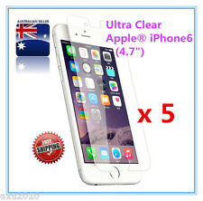 """Free Post 5 x Ultra Clear Screen Protector For Apple® iPhone 6/ 7(4.7"""") from OZ"""