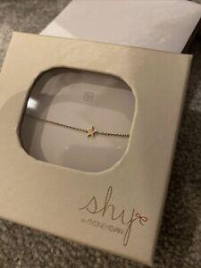 14k Rose Gold with Diamond Bracelet By Shy By Sydney Evans
