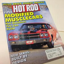 HOT ROD Magazine February 1992 MuscleCars Street Trucks Corvette