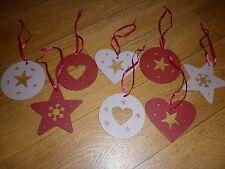 lot de 8 suspensions décoration de Noël