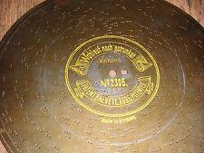 """Bene ancora bevuto SYMPHONION piastra di lamiera 27cm Orologio Music Box DISC 10 5/8"""""""