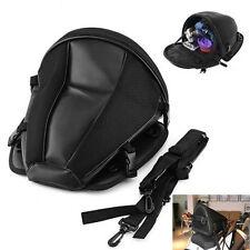 Motorcycle Backpack Tail Back Seat Storage Carry Luggage Shoulder Waterproof Bag