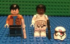 Custom Lego Star Wars Fin and Poe on the Star Destroyer Before thier escape!