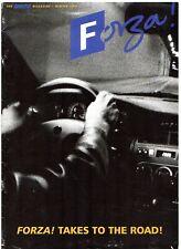 Fiat Forza Magazine Winter 1994 UK Market Brochure Cinquecento Punto Tipo Coupe