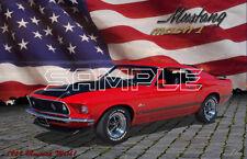 1969 Mustang Mach1 American Muscle Print