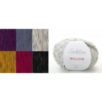Sirdar Sublime Willow Tweed Effect Merino Wool 50g Ball Knit Craft Yarn