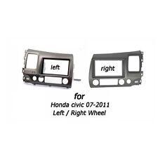 2Din Fascia Stereo For HONDA Civic Sedan 2007-2011 Dash Mount Trim Kit Frame
