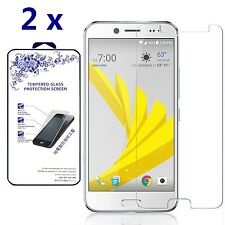 [2 Pack] For HTC Bolt / HTC 10 evo HD Tempered Glass Screen Protector