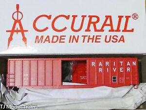 Accurail HO #80901 (Rd #420) Raritan River (50' X-Post Steel Boxcar) Kit Plastic