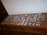 Lot of 248 Hall Of Famers Baseball Cards just a few dups most NM Great Players