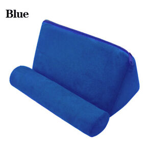 Tablet Pillow Phone Holder Book Stand Rest Foam Pillow Mount Cushion For iPad
