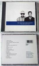 PET Shop Boys discography/The Complete Singles Collection... 1991 CD EMI