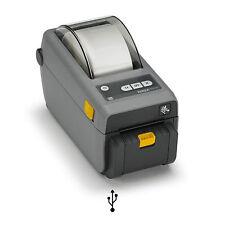Etikettendrucker Zebra ZD410 203 dpi, Abreißkante, ZD41022-D0EM00EZ