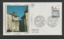 FRANCE 1995 SG3243 YVERT 2957 soie FDC (Corrèze) Margot Gate et St. Martial's C